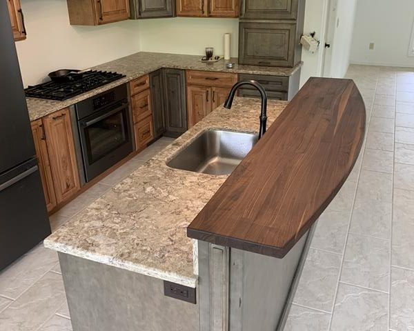 Walnut Bar Counter Top