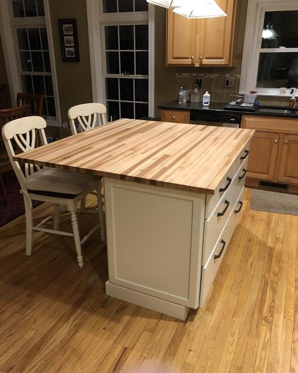 Hickory Counter Top