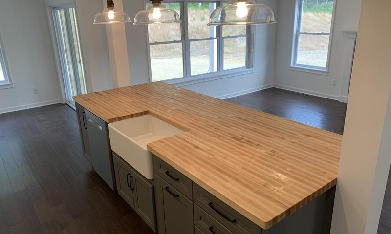 Large Oak Counter Top
