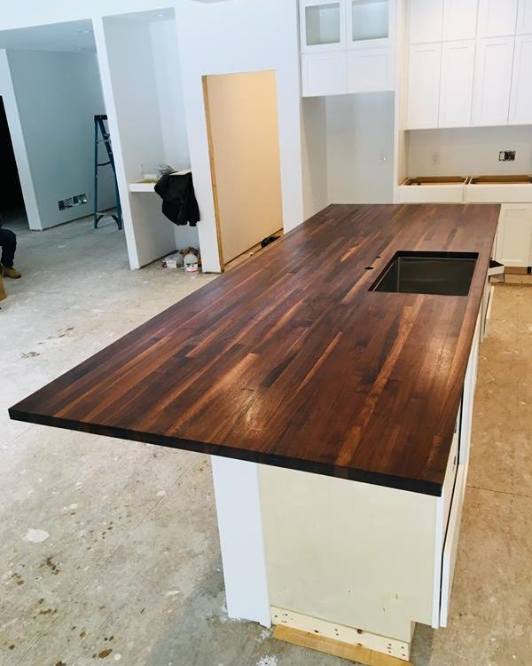 Large Walnut Counter Top