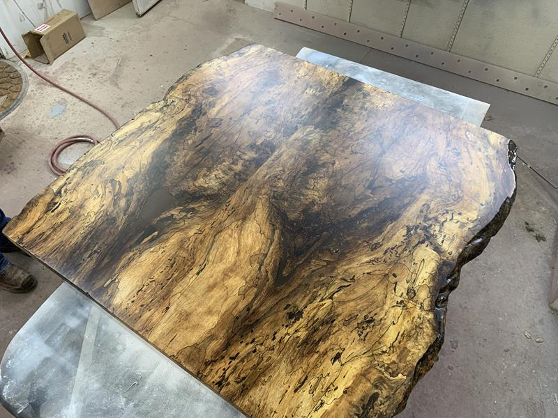 Live Edge Spalted Maple Countertop