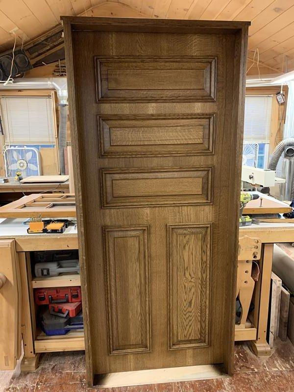 Duplication NYS Bathroom Door