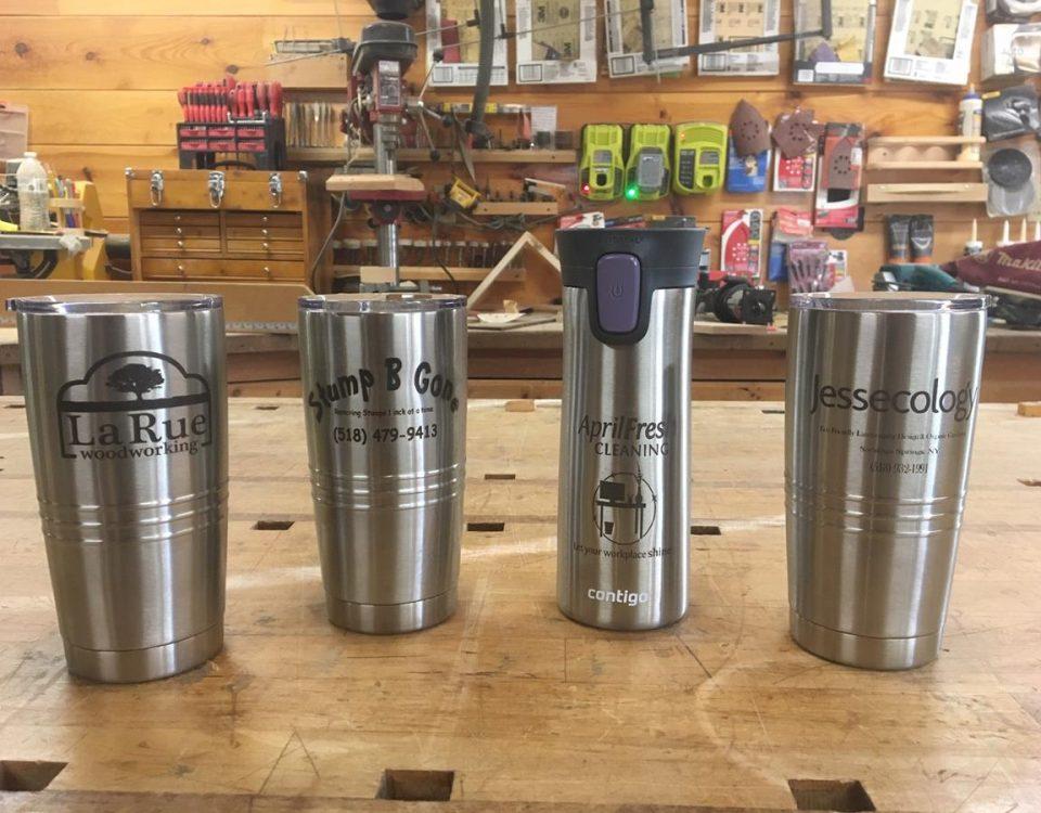 Custom Lasered Mugs