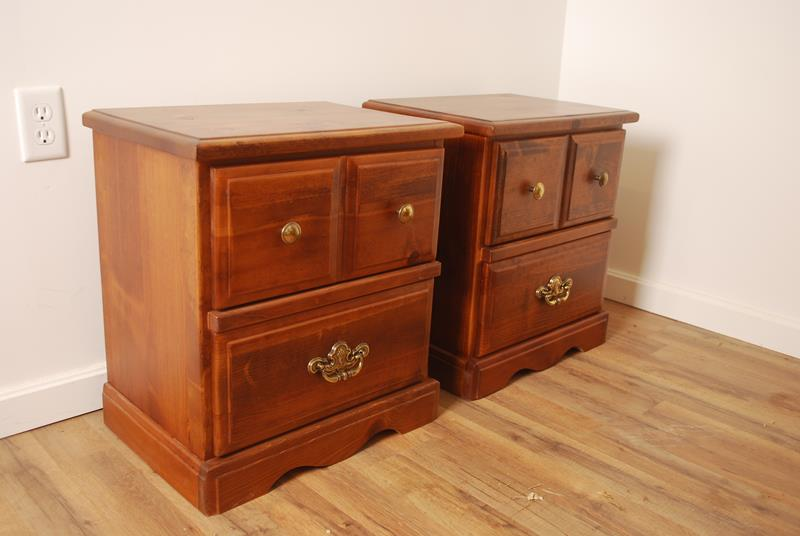 Night Stands Refinish