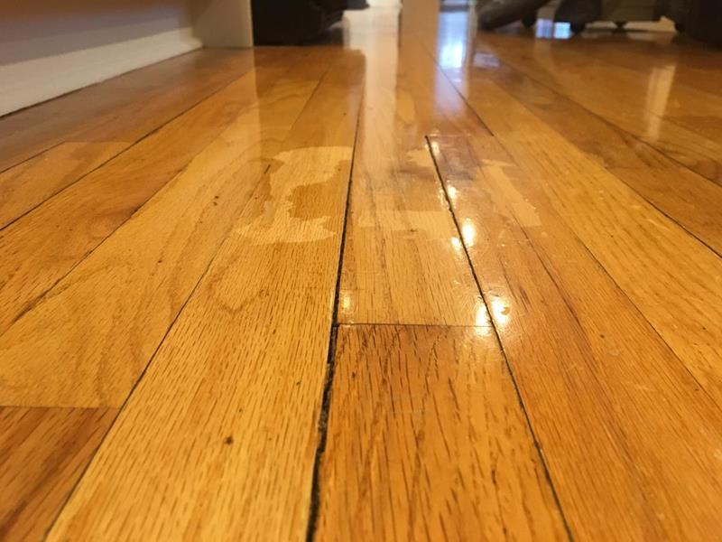 Repair Oak Floor