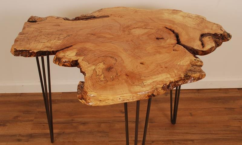 Live Edge Cafe Table