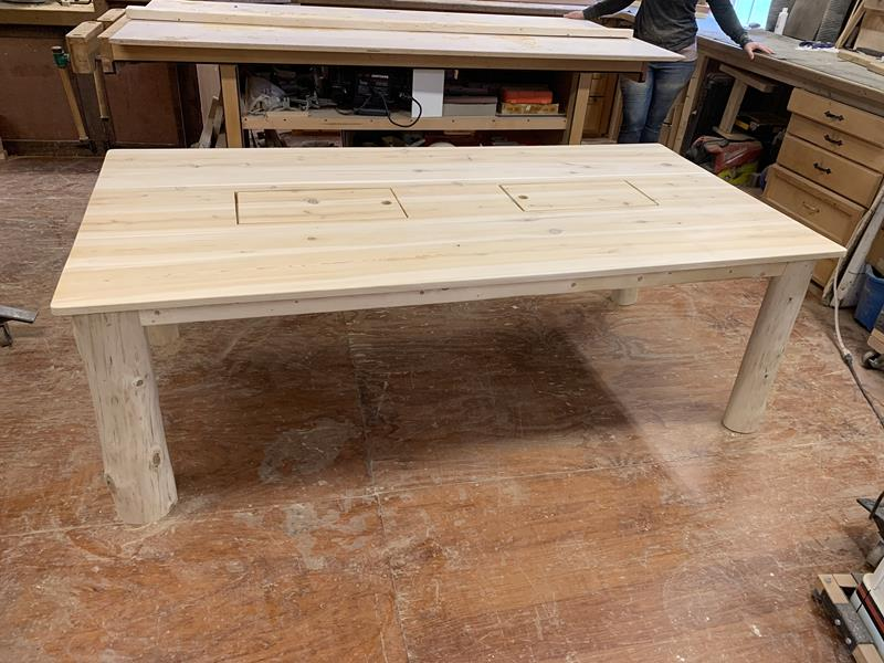 Custom Cooler Table